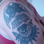 татуировка чечня