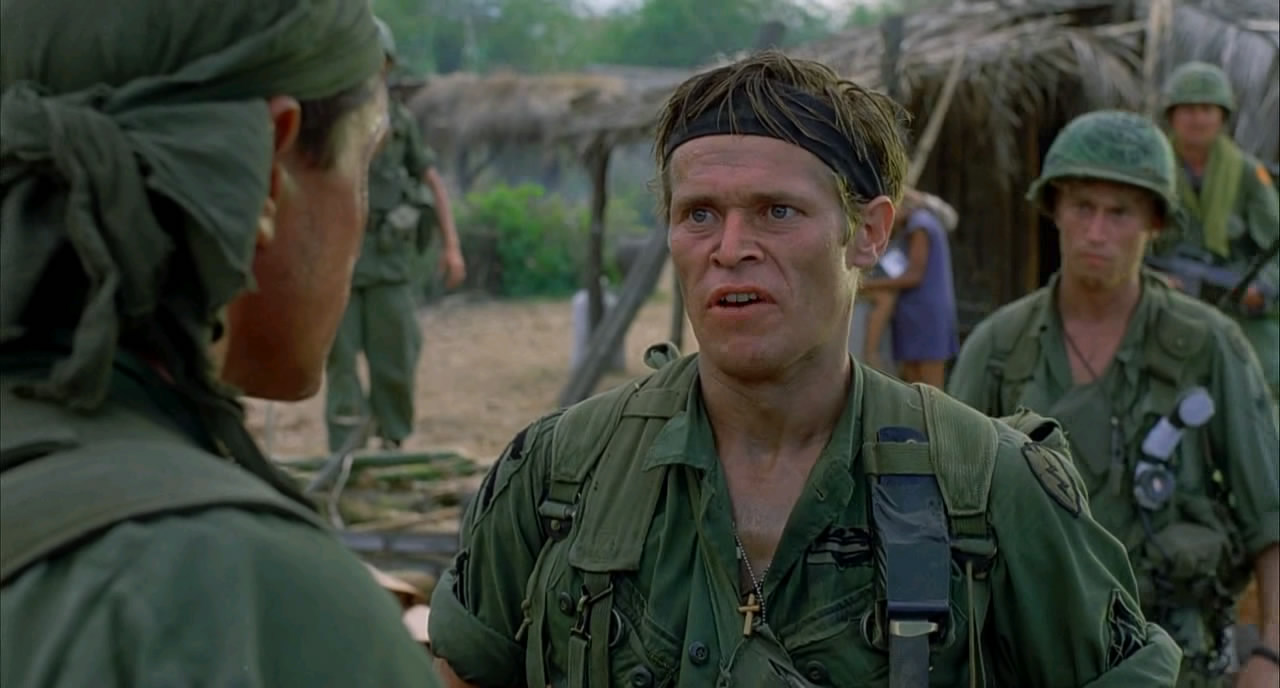 an analysis of the characters in the movie platoon Watch platoon 123movieshub: as a young and naive recruit in vietnam, chris taylor faces a moral crisis when confronted with the horrors of war and the duality of man in 1950s connecticut, a housewife faces a marital crisis and mounting racial tensions in the outside world.