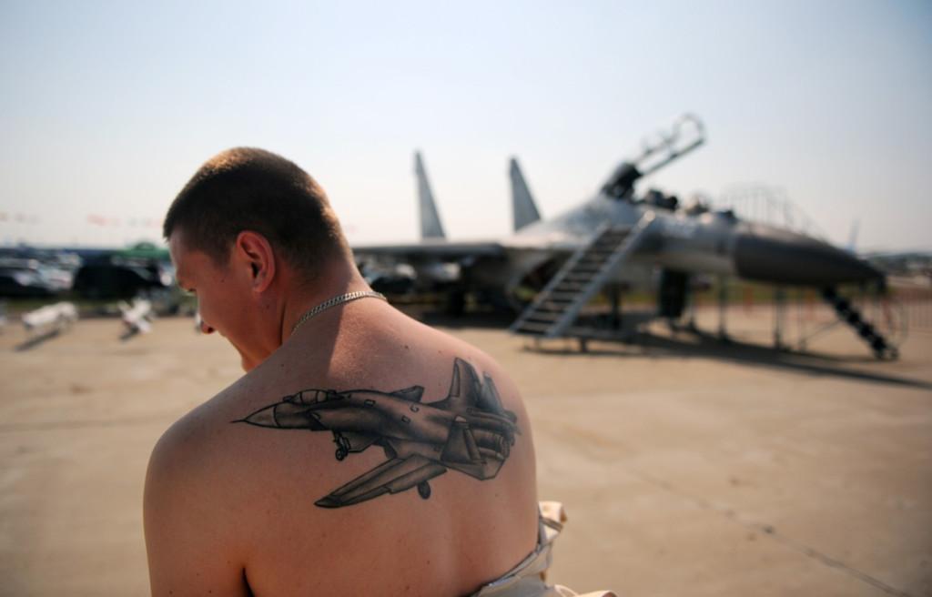 армейские тату