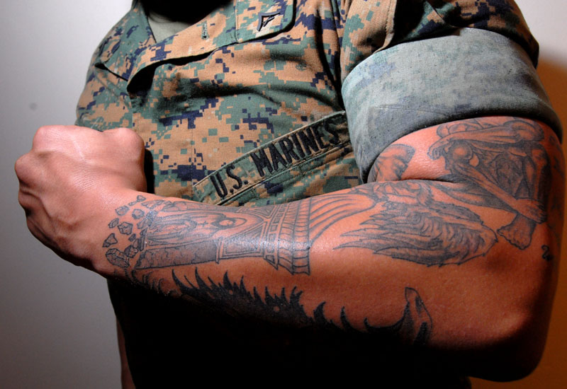 USMC-Military-Tattoo-Design