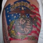 тату USMC