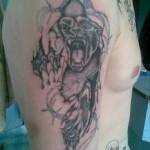 ОДОНА (символ дивизии-оскаленая пантера)