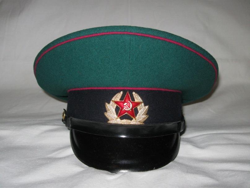 зеленая фуражка пограничных войск ссср