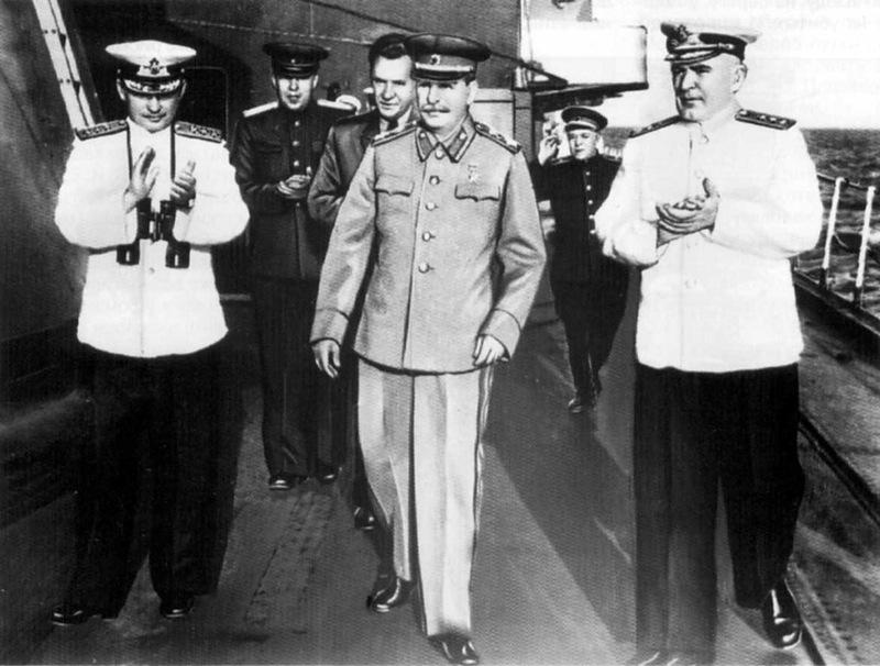 Сталин на флоте