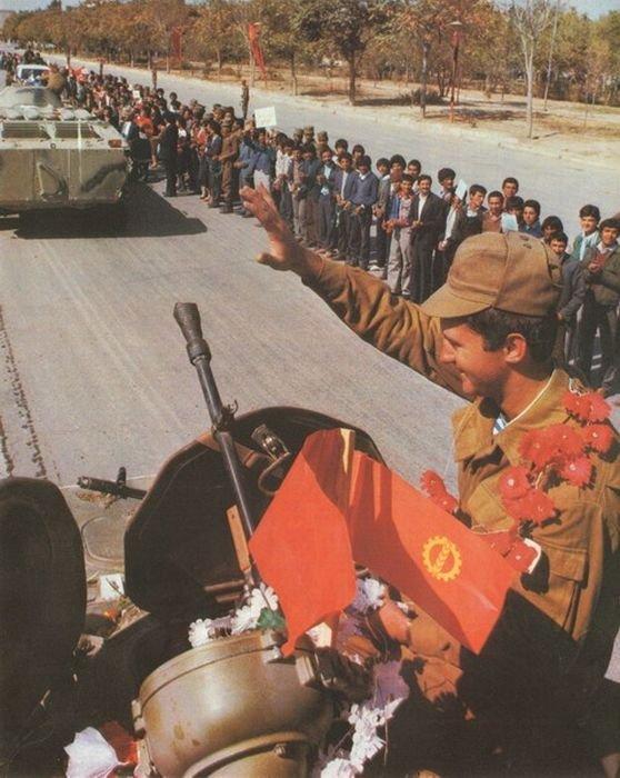 Советская Армия в Афганестане