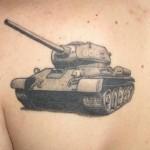 тату танк
