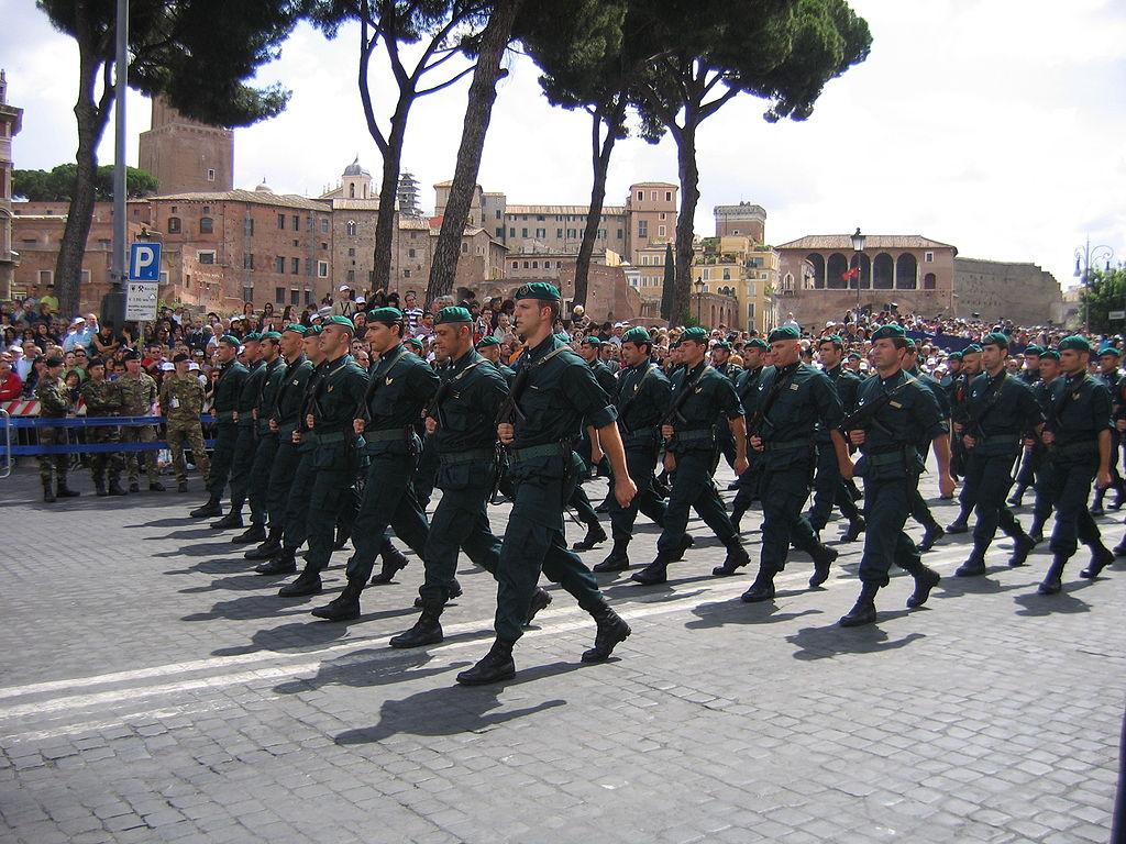 Бойцы специального подразделения Итальянского флота