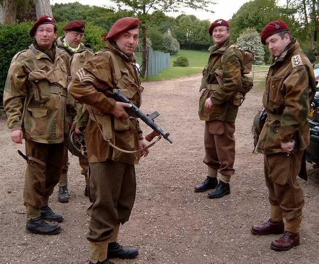 британские парашютисты