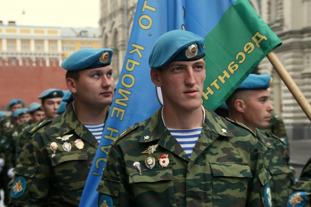 голубой берет ВДВ РФ