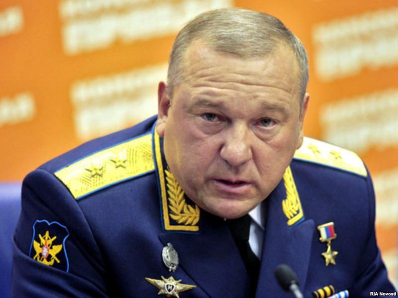 Командующий ВДВ генерал Шаманов