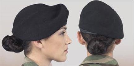 армейская прическа для женщин
