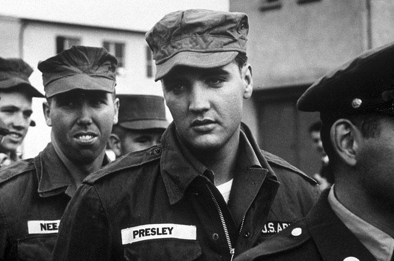 Элвис Пресли в армии
