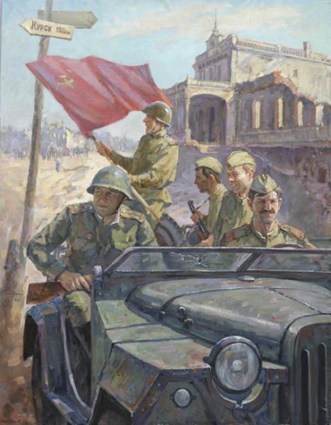 osvobozhdenie belgoroda avgust1943god