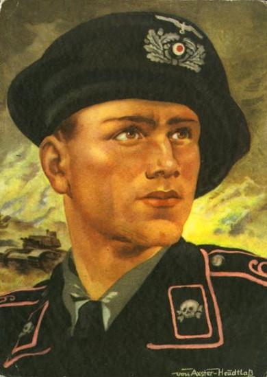 танковый берет Вермахта
