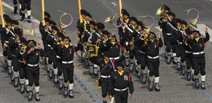 Военный оркестр French Alpine Chasseurs