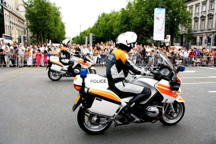 Мотоциклетный полк полиции Люксембурга