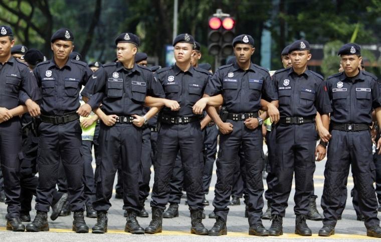 Полиция Малайзии