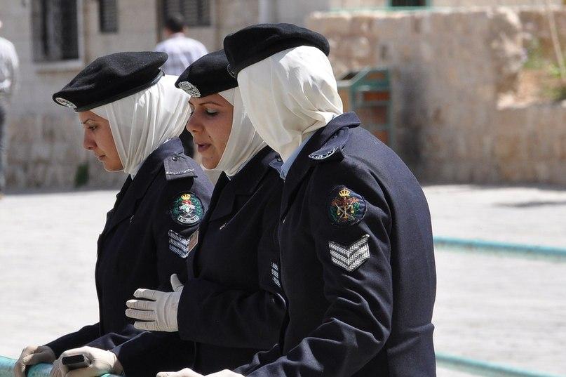 Сотрудницы полиции Иордании