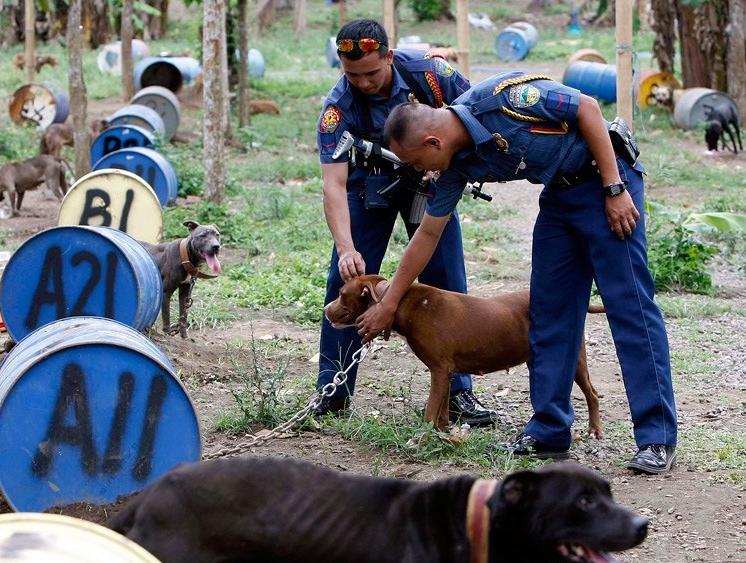 Филиппинские полицейские1
