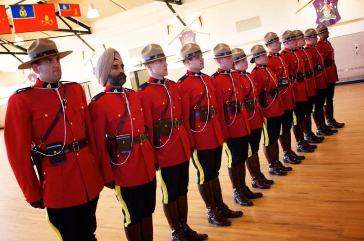 Форма канадской конной полиции