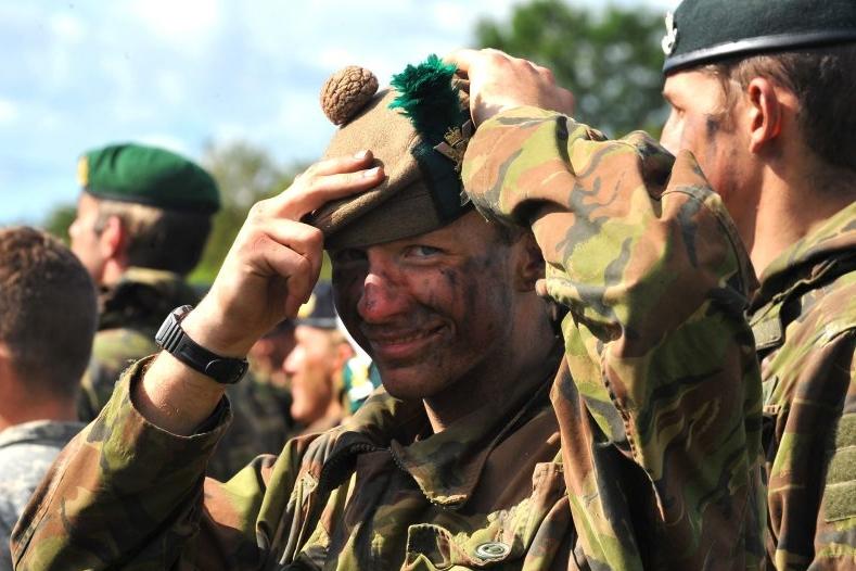 головные уборы Британской армии
