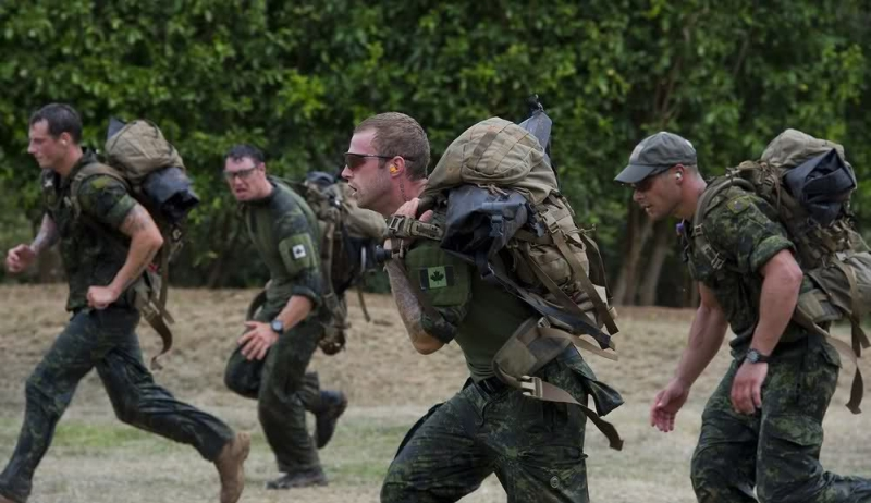 Солдаты специальных сил армии Канады