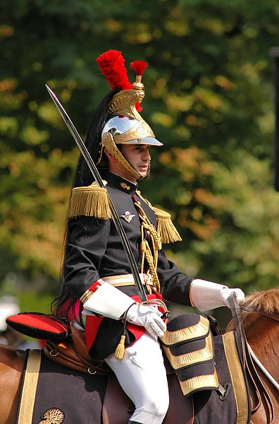 капитан кавалерийского полка французской республиканской гвардии