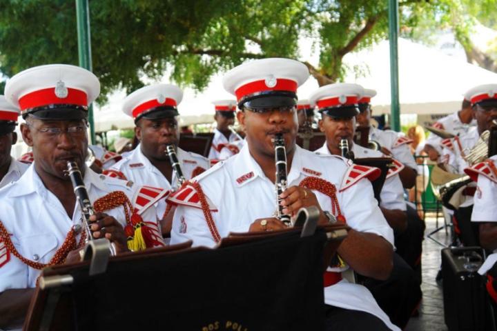 оркестр полиции Барбадоса