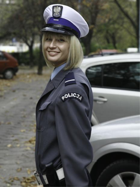 Форма польской полиции