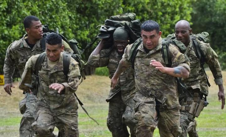 Belize's special forces soldier