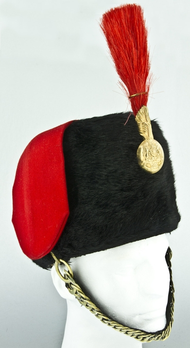 British_Royal_Artillery_Ceremonial_Fur_Busby