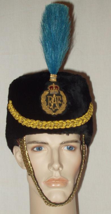 Меховая шапка Королевских ВВС
