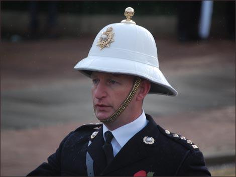 Колониальный шлем Королевской морской пехоты