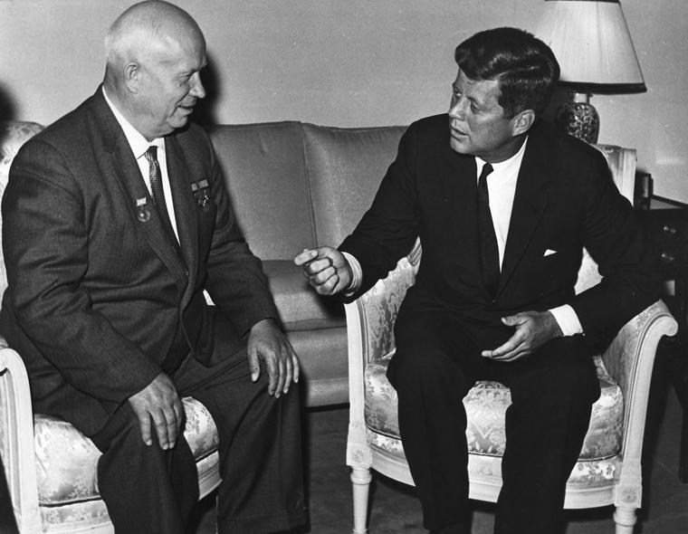 Кеннеди и Хрущёв