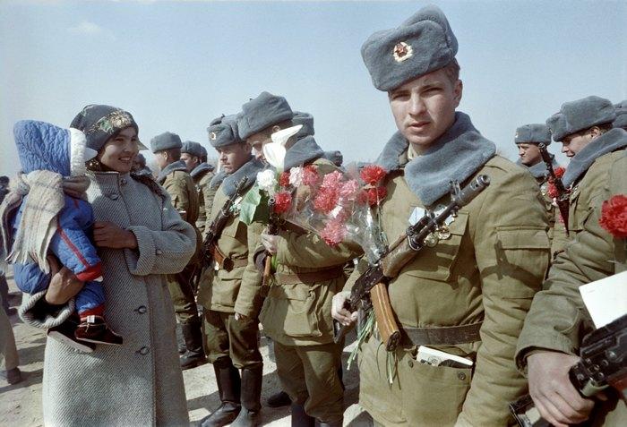 AFGHANISTAN-USSR-WITHDRAWAL