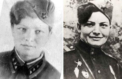 Екатерина Алексеевна ПЕТЛЮК (до и после войны)