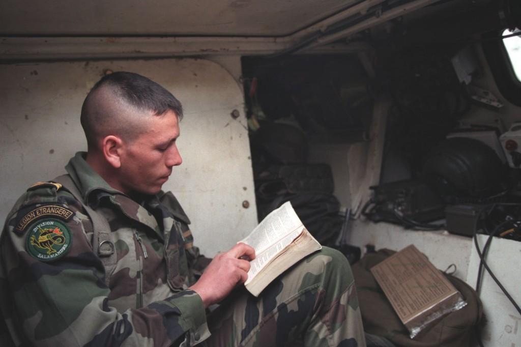 Легионер в составе SFOR в Боснии и Герцеговине