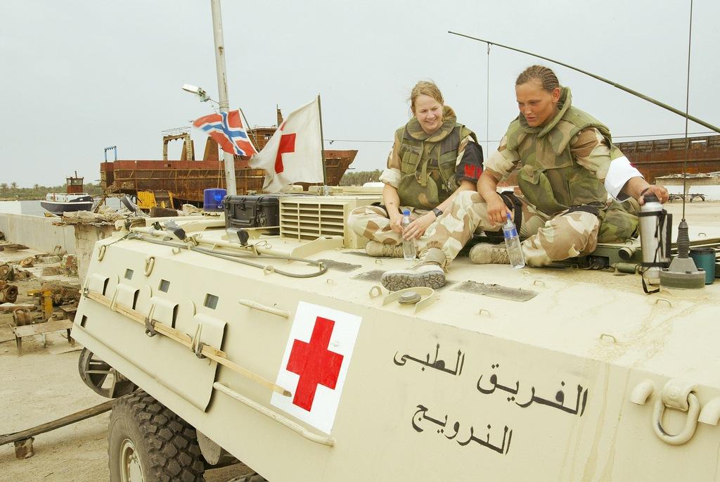 Норвежский контингент в Ираке. 2004 г.