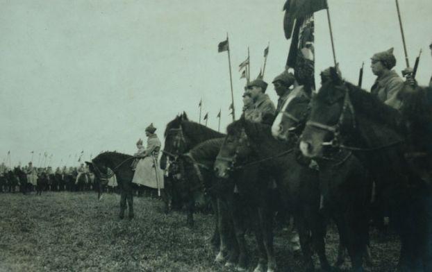 Отправка частей Первой Конной Армии на Польский фронт. 1920