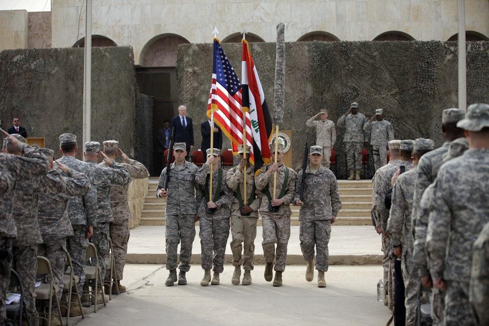 Торжественная церемония по случаю завершения военной миссии США в Ираке, 15 декабря 2011 года в Багдаде