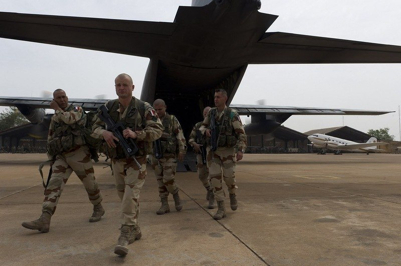 Французский иностранный легион в Мали (2-em R.E.P. и 1-er R.E.C.)