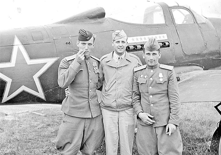 истребитель P-39 Аэрокобра
