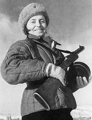 Русские женщины-воины