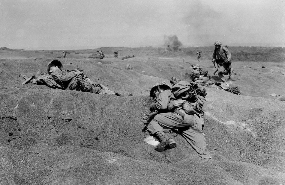 WWII IWO JIMA U.S. CASUALTY