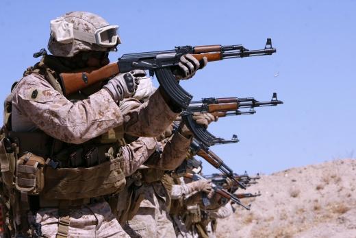 АК в Афганистане