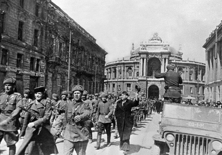 Освобождение Одессы от немецко-фашистской оккупации