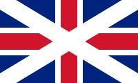 Shotlandskij variant flaga. ispol'zovalsja v 1606—1707