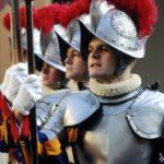 Доспехи для швейцарской гвардии Ватикана