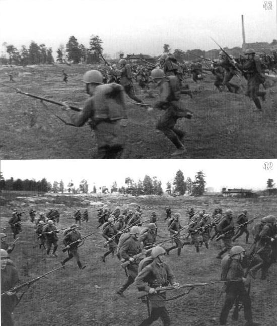 13 июля, 437-й стрелковый полк 154-й стрелковой дивизии атакует немецкие позиции на подступах к городу Жлобину