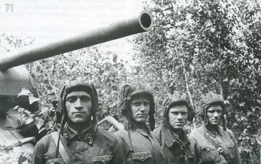 Юго-Западный фронт, июнь 1941 года. Экипаж Т-34, подбивший 6 немецких танков